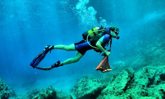 Daily Diving Trips In Santorini