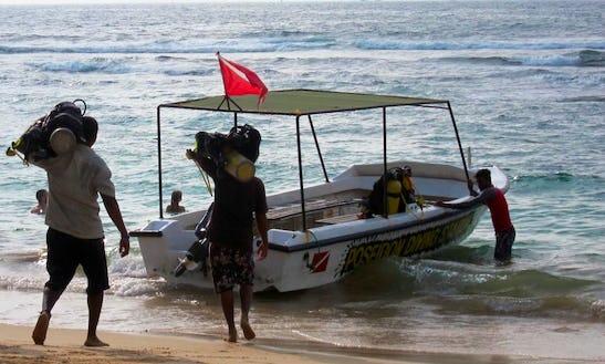 'poseidon-3' Boat Diving & Padi Courses In Hikkaduwa
