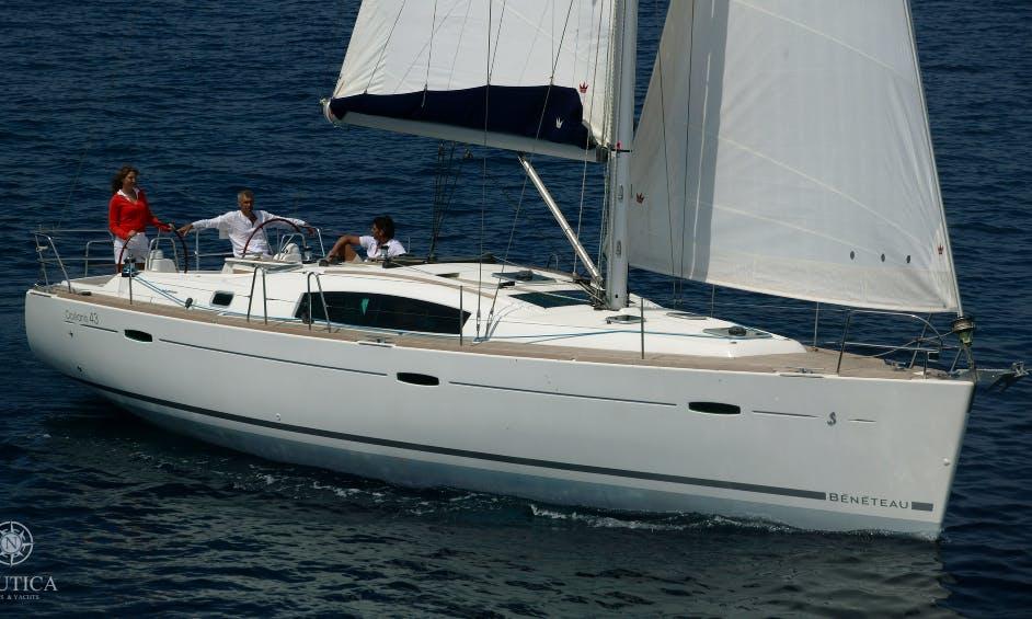 Queen Ann Beneteau Oceanis 43.4 Charter in Tallinn