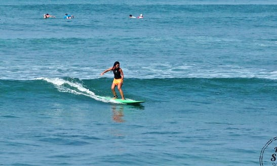 Surfing Lessons In Kuta Utara