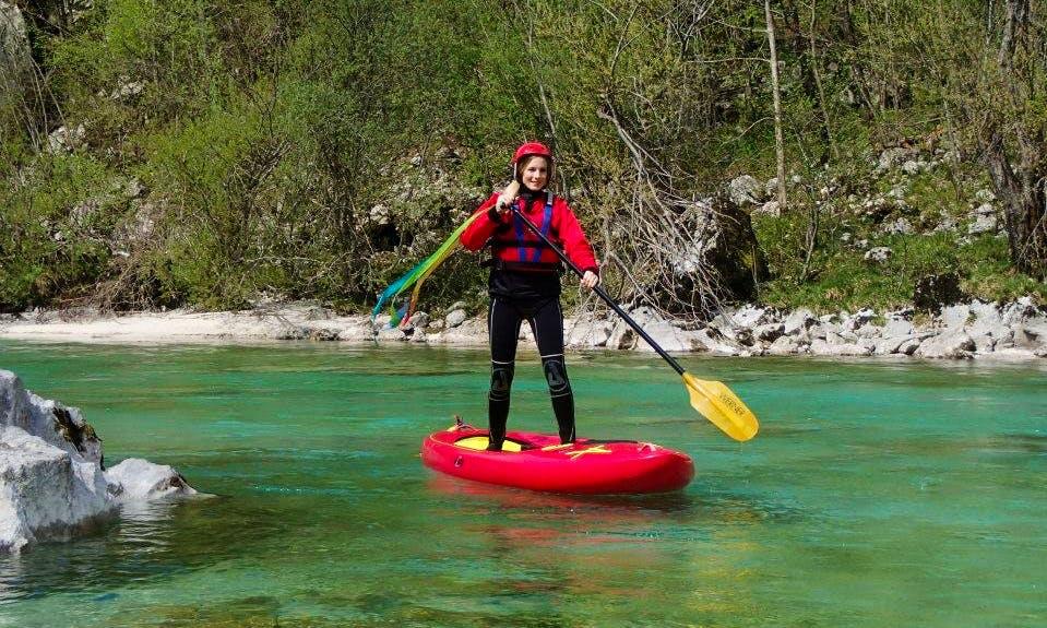 Stand Up Paddleboard Rental in Trnovo ob Soči