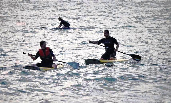 Stand Up Paddle Lesson In Seignosse