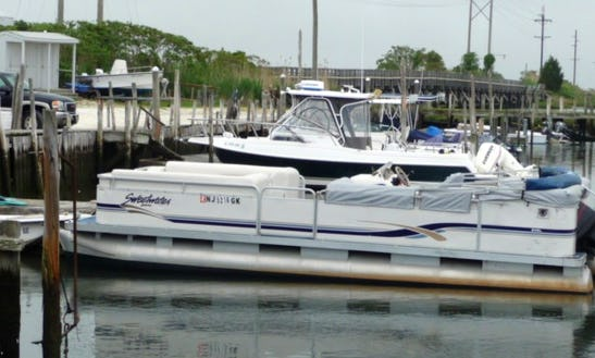 24' Pontoon Rental In Little Egg Harbor Township, New Jersey United States