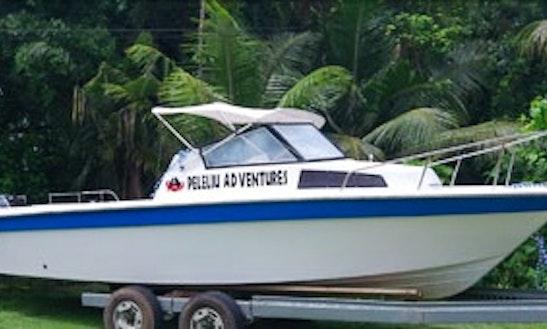 Passenger Boat Charters In Peleliu, Palau