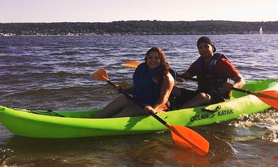 Ride A Double Kayak In Highlands, New Jersey!