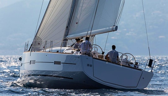 Strappo - Dufour 460  Grand`large (4 Cabins, 4 Heads, From 2016) Base Horta, Faial Island, Azores