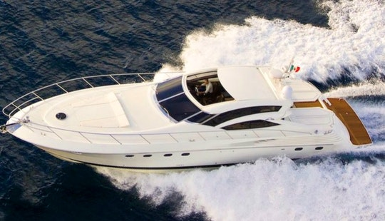 60' Sarnico Luxury Motor Yacht In Porto Rotondo