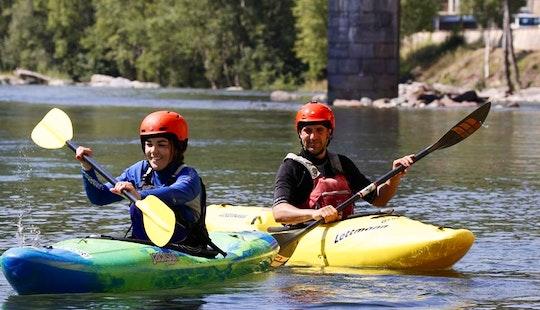 Single Kayak Rental & Courses In Sort, Spain