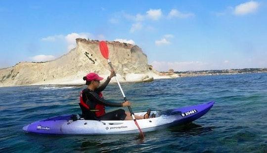 Single Kayak Rental In Il-gzira, Malta