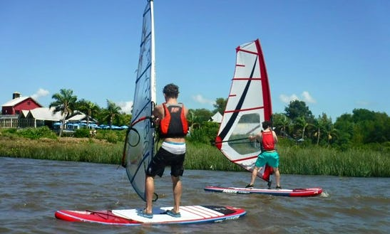 Windsurfing Lesson With Cool Instructor In La Lucila, Argentina