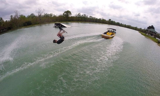 Wakeboarding In 1, Louisiana