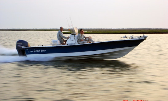 Rent 24' Blazer Bay Boat In Slidell, Louisiana