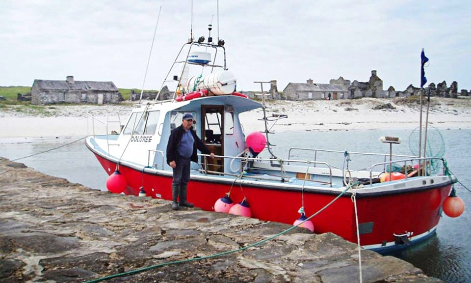 """34' Offshore Boat """"Doloree"""" In Mayo"""