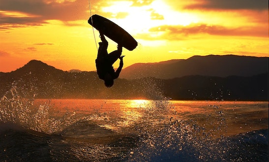 Wakeboarding In Hyeres, France