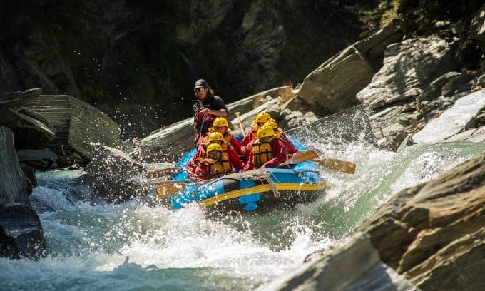 White Water Rafting Trips in Queenstown