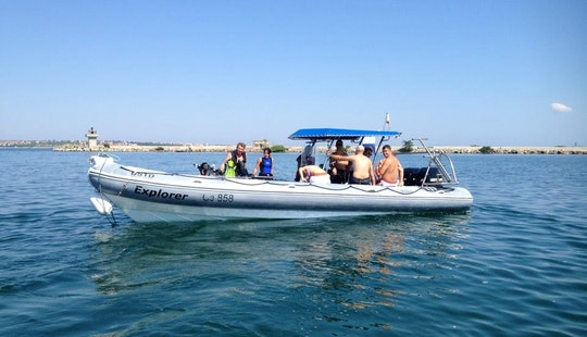 'explorer' Boat Diving Trip And Padi Courses In Sozopol