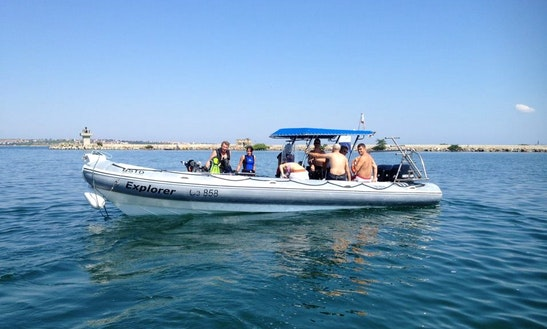 'explorer' Boat Diving Trip And Padi Courses In Sozopol
