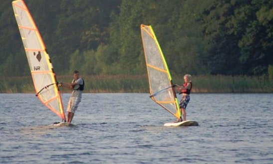 Windsurfing In Mrągowo