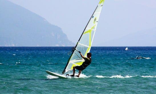 Windsurfing In Male Male