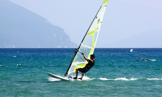 Windsurfing In Male Male