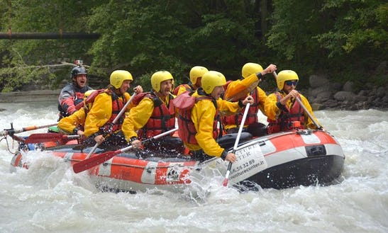 White Water Rafting Trips In Morgex