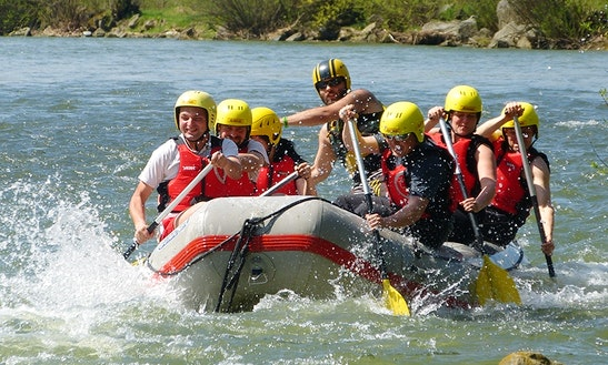 White Water Rafting Trips In Dunajec River