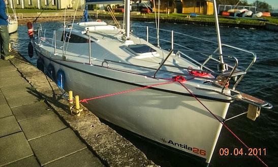 Antila 26 Sailing Monohull Charter In Lubczyna