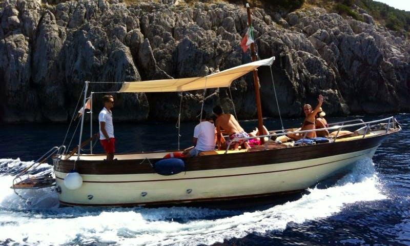 Jet Boat Tour in CAPRI