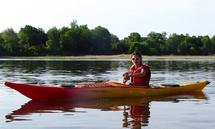 Single Kayak Courses in Vineuil