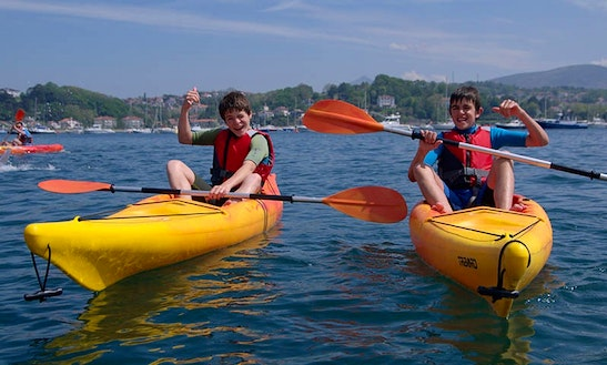 1-person Sea Kayak Hire In Ciboure