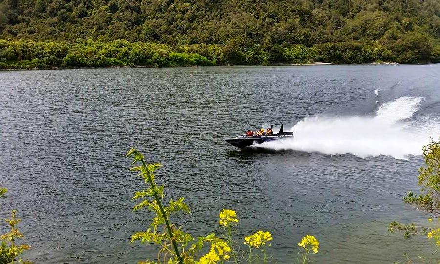Jet Boat Tour in Lower Buller