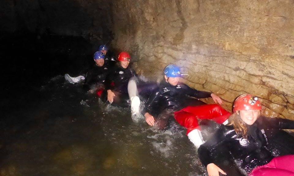 Cave Rafting Tour in Hangatiki