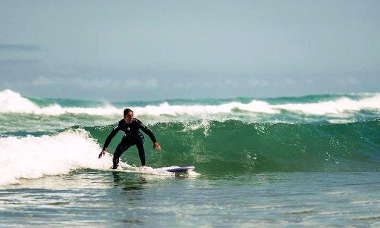 Surf Lessons In Zarautz