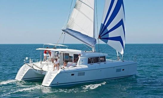 Lagoon 421 Cruising Catamaran Charter In Palermo