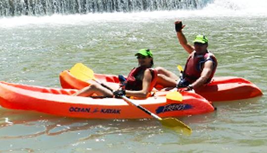 Hire A Solo Frenzy Ocean Kayak In Blanca, Spain