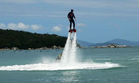 Flyboarding In Florianópolis