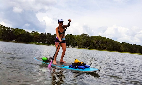 Stand Up Paddle Tour In Tybee Island