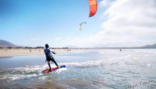 Kitesurfing Lessons For Beginners On Various Surf Spots In Caleta De Famara