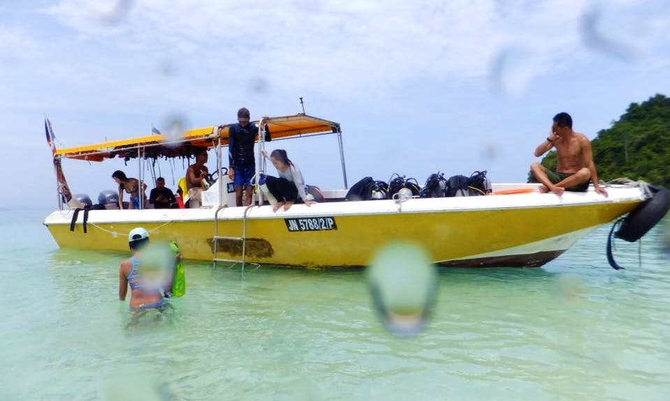 Bubbles Boat Diving Trips and Courses in Kota Kinabalu