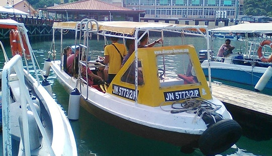 Small Boat Diving Trips In Kota Kinabalu