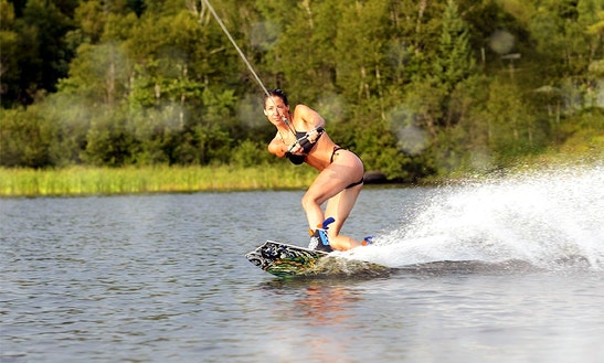 Wakeboarding In Delray Beach, Florida