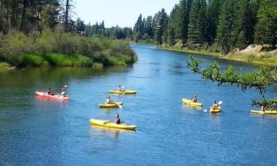 Tandem Kayak In Bigfork