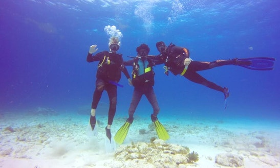 Scuba Diving Trips For Certified Divers And Dive Lesson For Beginners In Cancún, Mexico