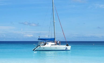 """Enjoy Bridgetown, Barbados On """"Elegance"""" Catamaran"""