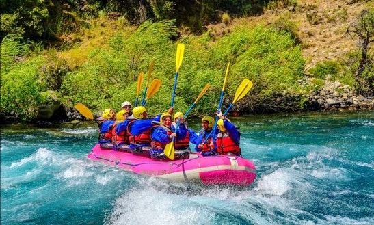 White Water Rafting On River Chimehuin