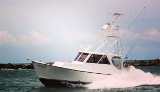 Sport Fisherman Boat Fishing Charter In Fort Pierce, Florida