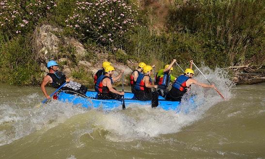 White Water Rafting In Cuevas Bajas