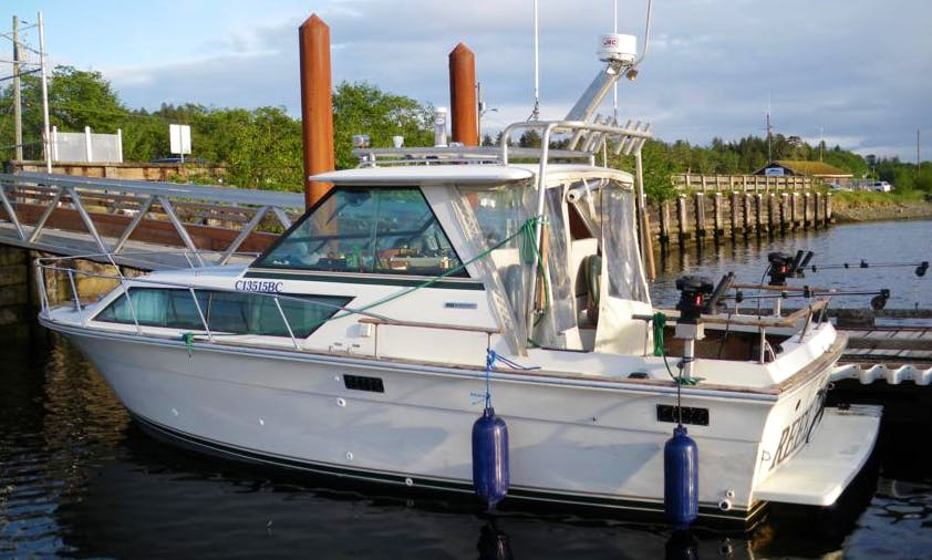 'Bonnie Heather' Boat Fishing Charter in Masset