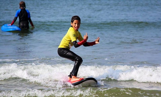 Surf Lessons In Guidel