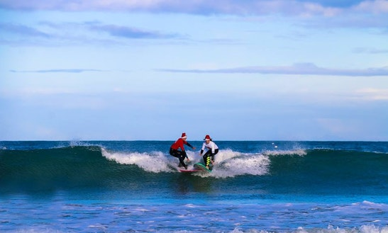 Surf Lessons In Perros-guirec